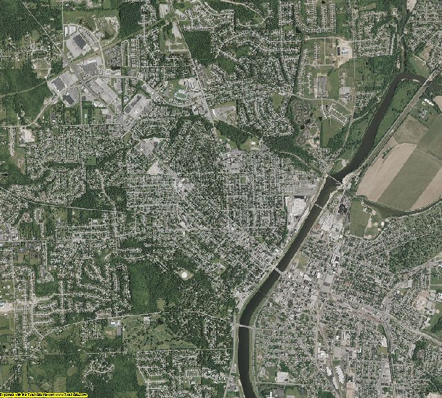 Butler County, Ohio aerial photography