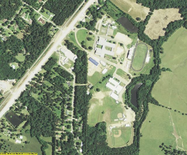 Caldwell County, LA aerial photography detail