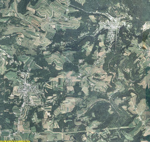 Cambria County, Pennsylvania aerial photography