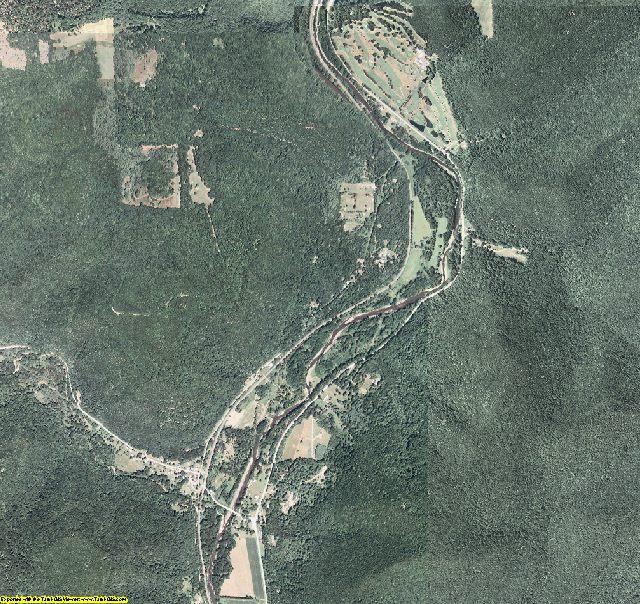 Cameron County, Pennsylvania aerial photography