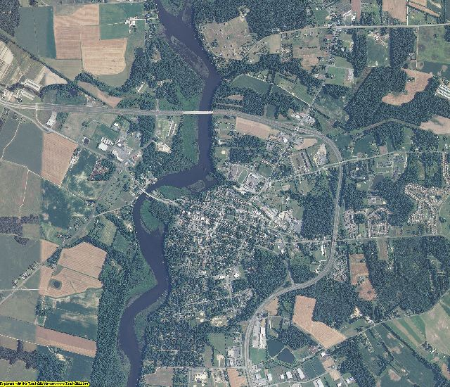 Caroline County, Maryland aerial photography