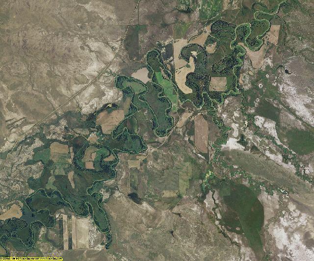 Carter County, Montana aerial photography