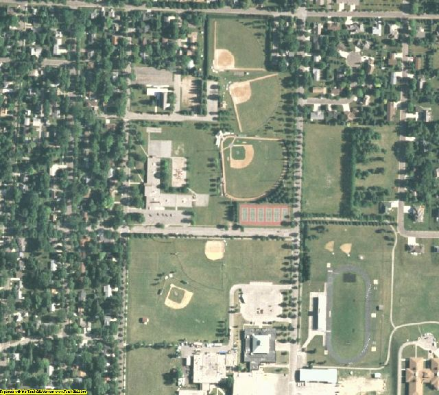 Chippewa County, MN aerial photography detail