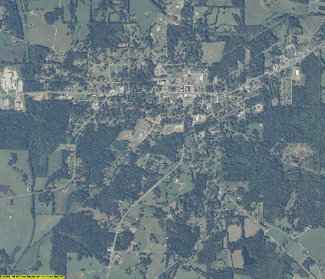 Clay County, Alabama aerial photography