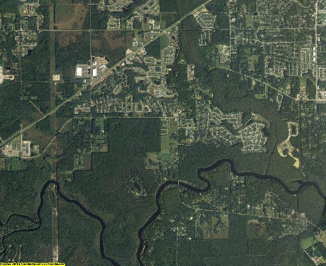 Clay County, Florida aerial photography