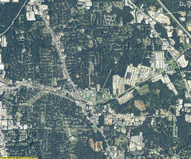 Clayton County, Georgia aerial photography