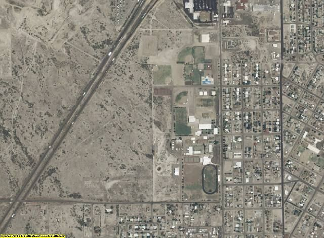 Cochise County, AZ aerial photography detail