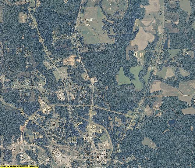 Coffee County, Alabama aerial photography