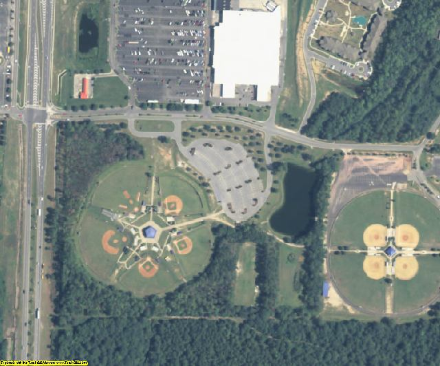 Colquitt County, GA aerial photography detail