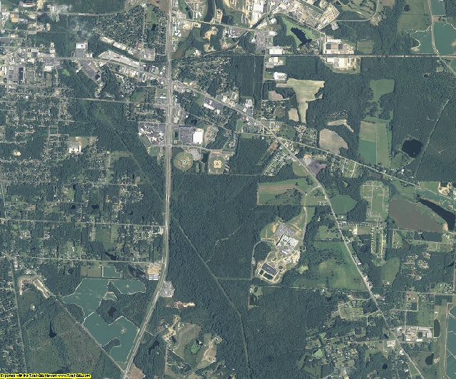 Colquitt County, Georgia aerial photography