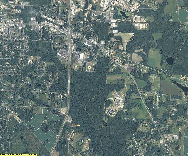 Colquitt County, Georgia aerial photography