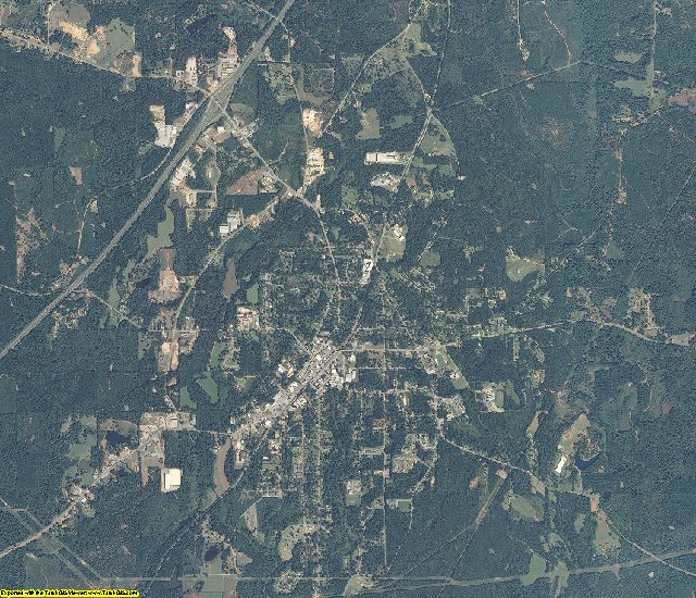 Conecuh County, Alabama aerial photography