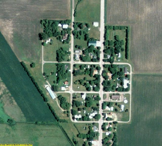 Cottonwood County, MN aerial photography detail