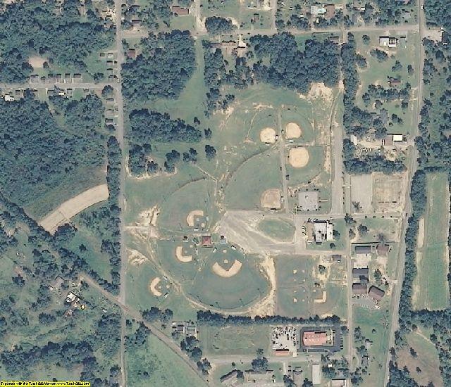Covington County, AL aerial photography detail