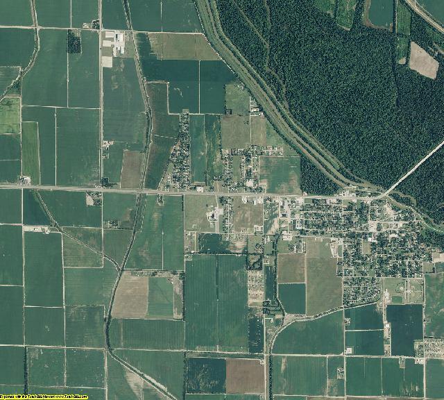 Craighead County, Arkansas aerial photography