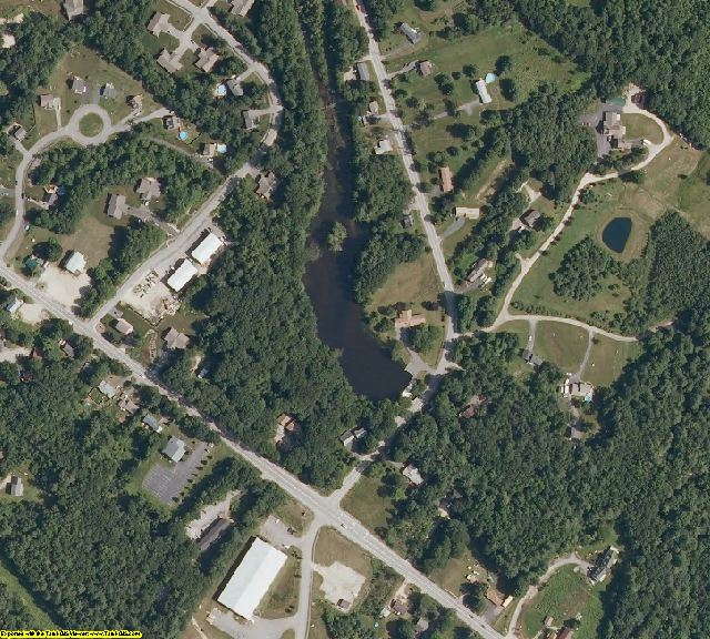 Cumberland County, ME aerial photography detail