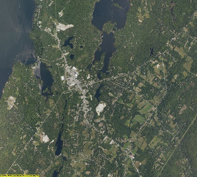 Cumberland County, Maine aerial photography