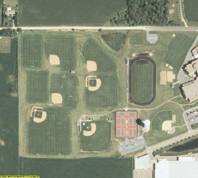 Dakota County, MN aerial photography detail