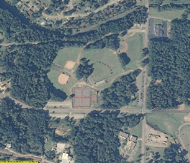 Dale County, AL aerial photography detail