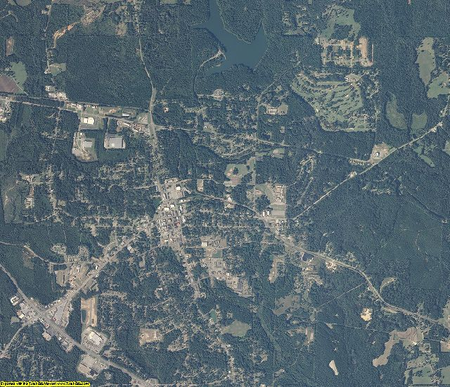 Dale County, Alabama aerial photography