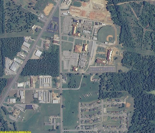 Dallas County, AL aerial photography detail
