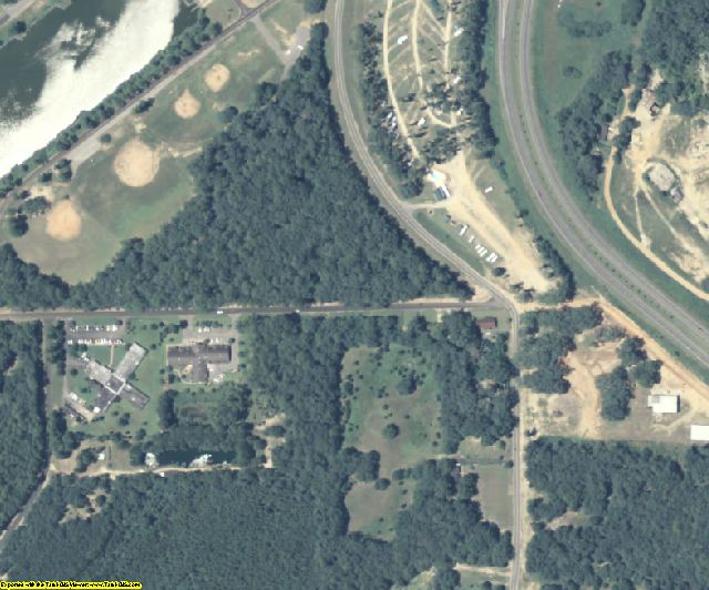 Decatur County, GA aerial photography detail