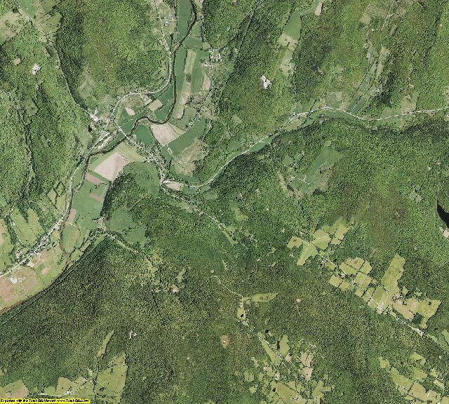 Delaware County, New York aerial photography
