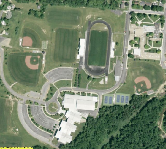 Delaware County, OH aerial photography detail