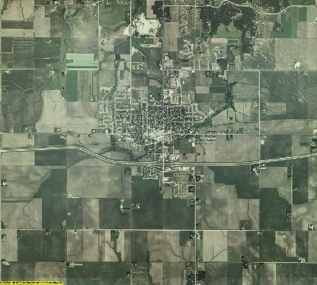 Dodge County, Minnesota aerial photography