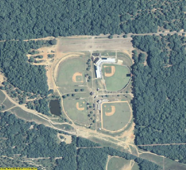 Dougherty County, GA aerial photography detail