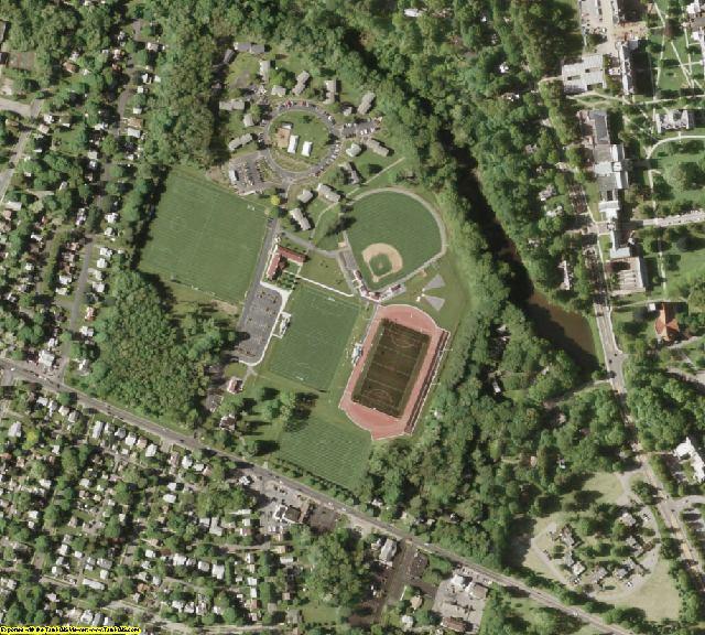 Dutchess County, NY aerial photography detail