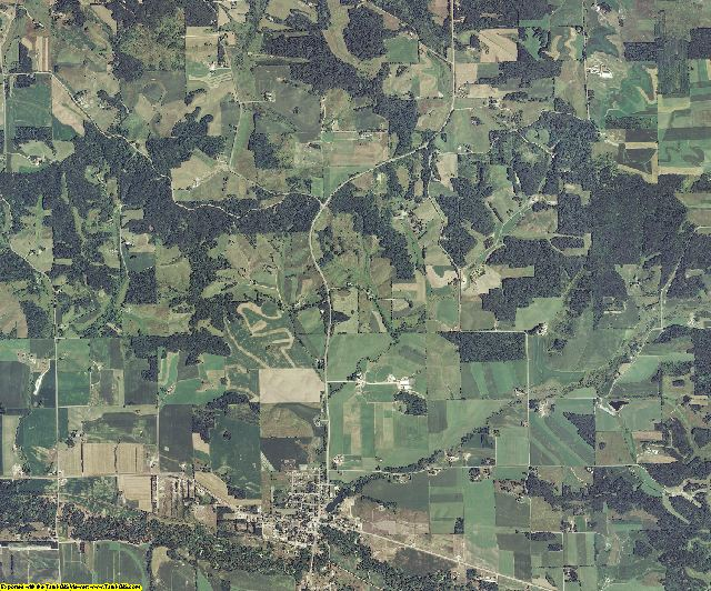 Eau Claire County, Wisconsin aerial photography