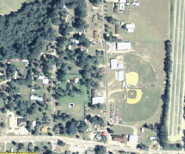 Echols County, GA aerial photography detail