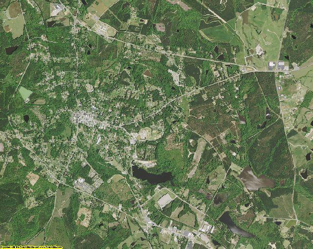 Edgefield County, South Carolina aerial photography