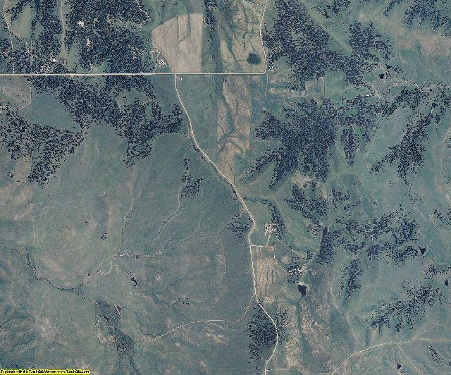 Elbert County, Colorado aerial photography