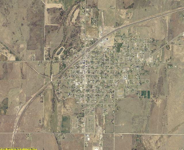 Ellis County, Oklahoma aerial photography