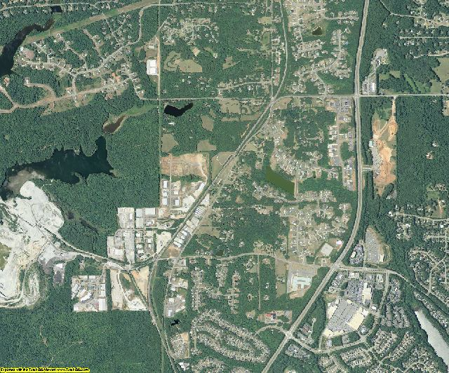 Fayette County, Georgia aerial photography