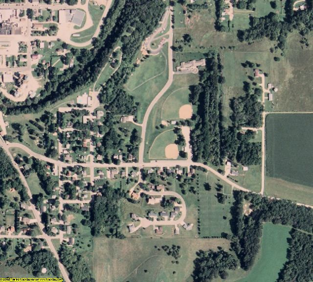 Fillmore County, MN aerial photography detail