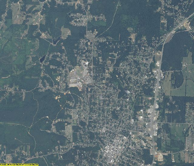 Franklin County, Alabama aerial photography