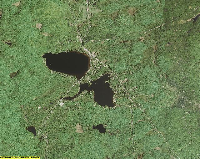 Fulton County, New York aerial photography