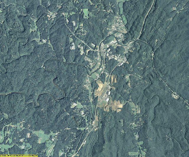 Gilmer County, Georgia aerial photography