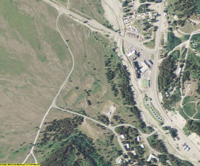 Glacier County, MT aerial photography detail