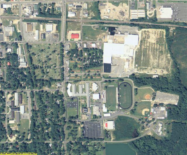 Grady County, GA aerial photography detail