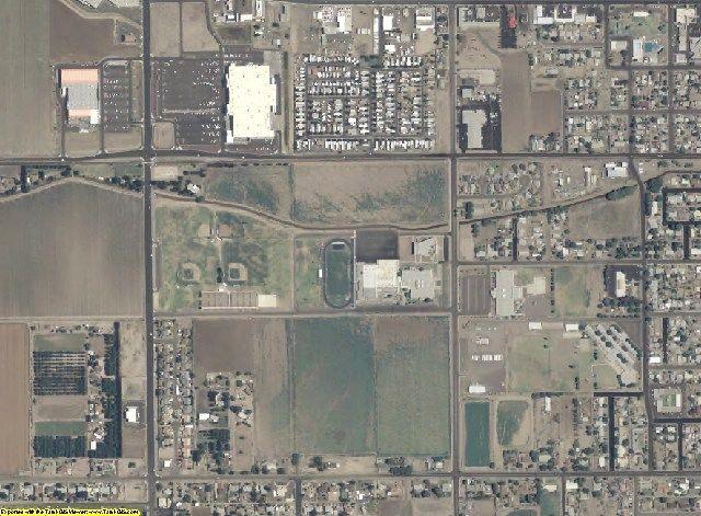 Graham County, AZ aerial photography detail