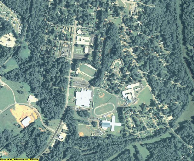 Greene County, GA aerial photography detail