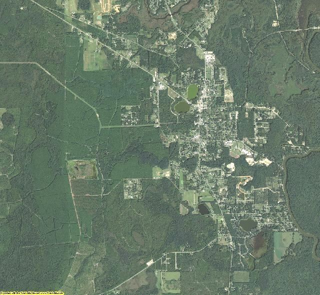 Gulf County, Florida aerial photography