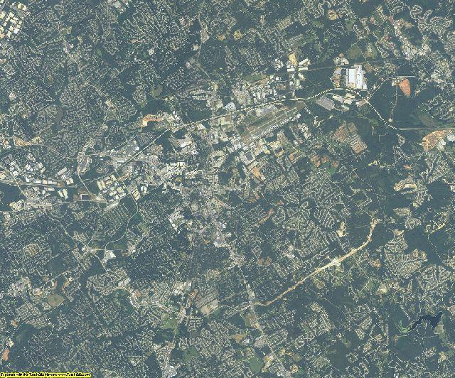 Gwinnett County, Georgia aerial photography