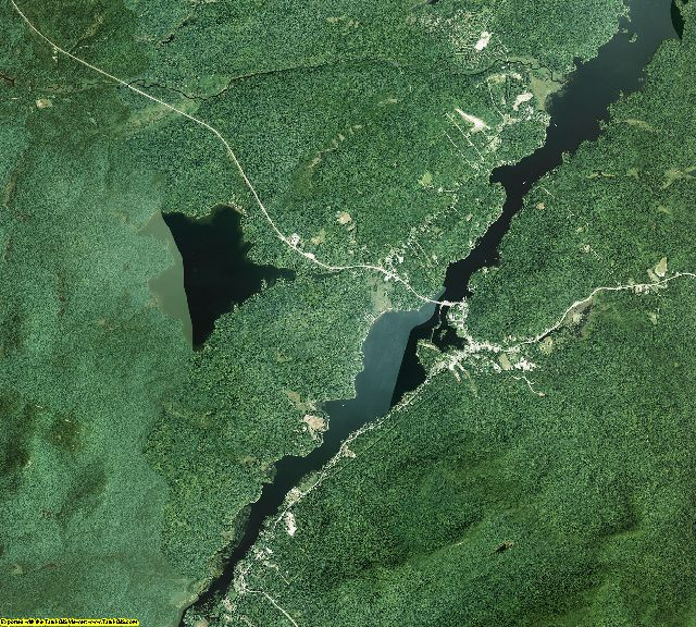 Hamilton County, New York aerial photography