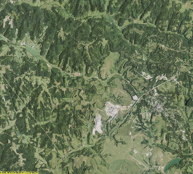 Harrison County, Ohio aerial photography