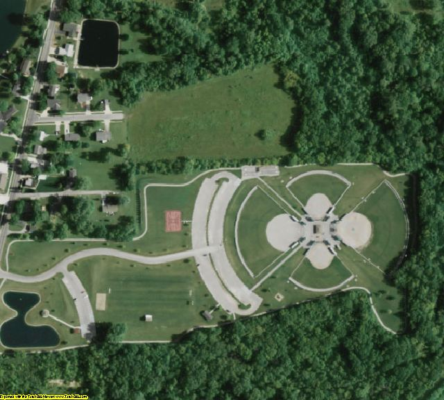 Henry County, OH aerial photography detail